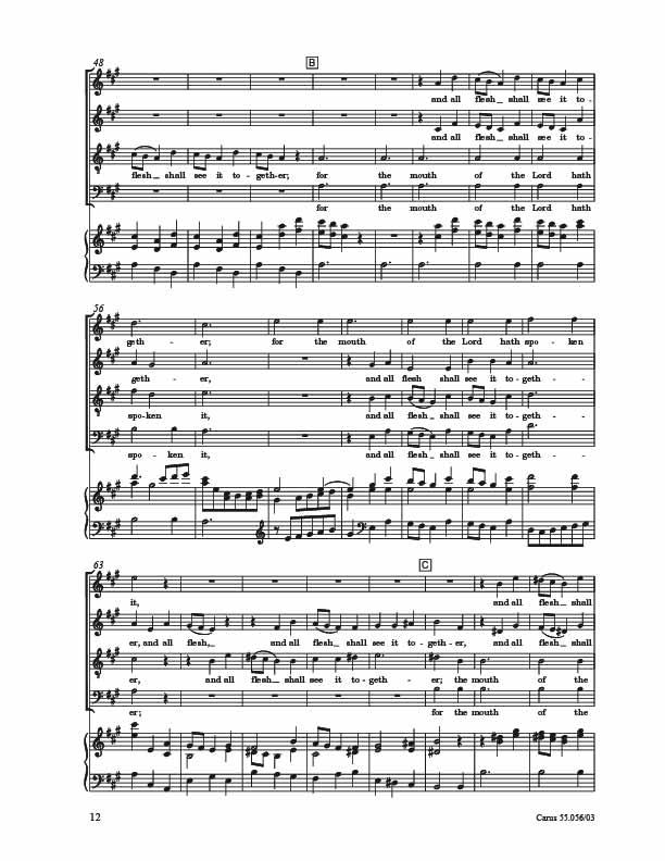 Partituur (Carus) blz.8